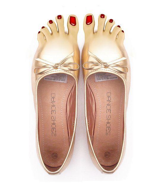 туфли с пальцами