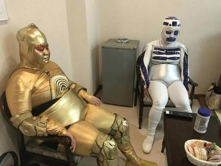 толстые роботы