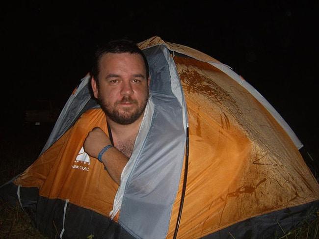 маленькая палатка