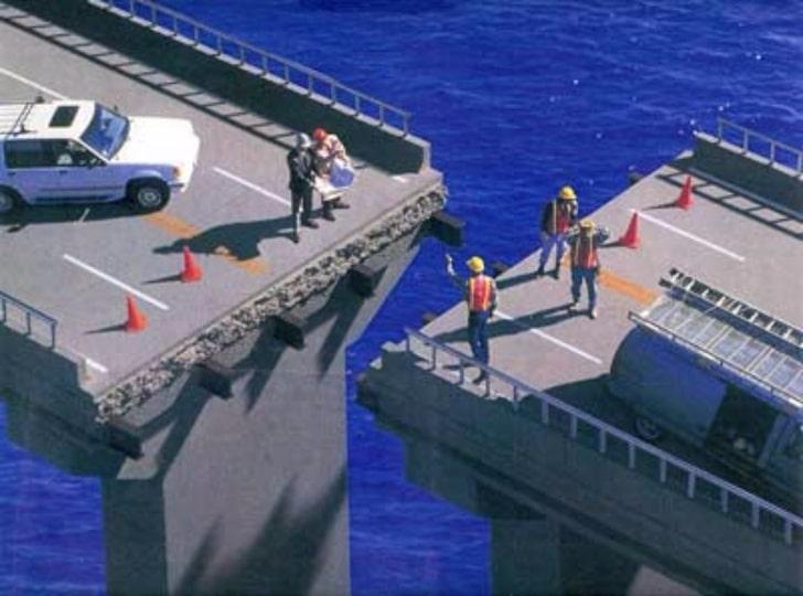 постройка моста