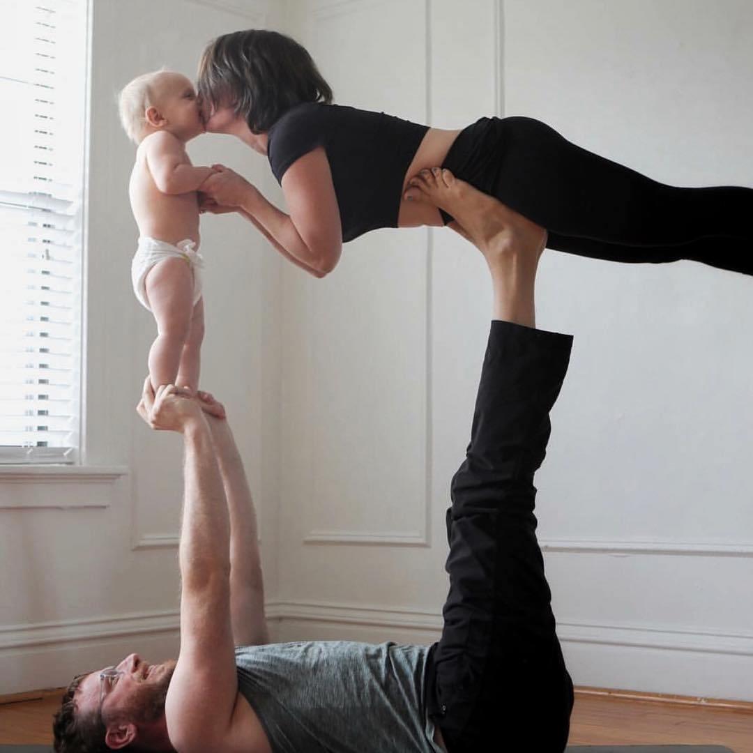 семья гимнастов