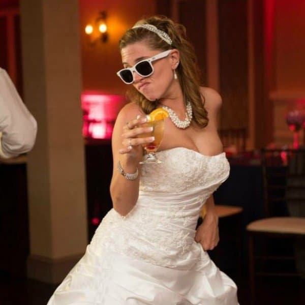 забавная невеста
