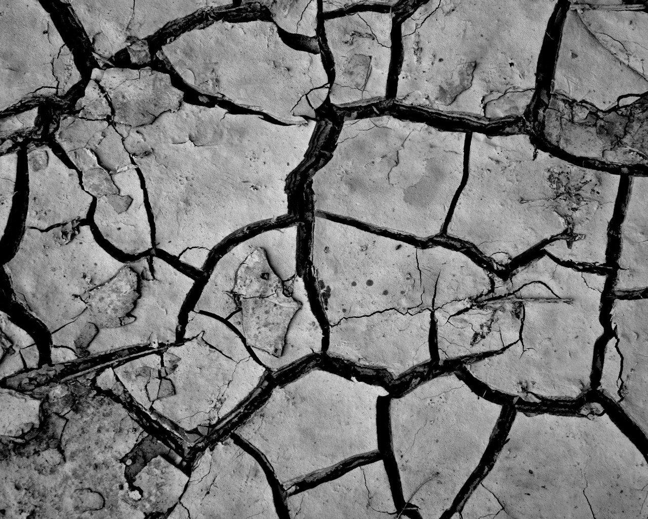 трещины в земле