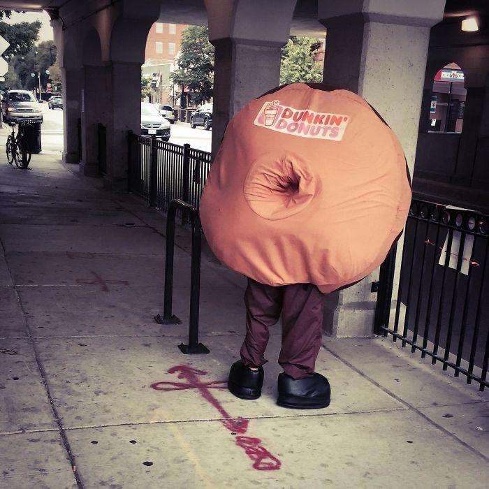 костюм пончика