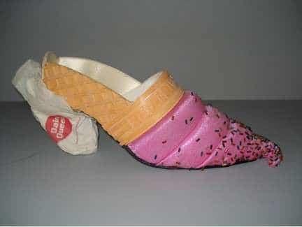 туфли в виде мороженого