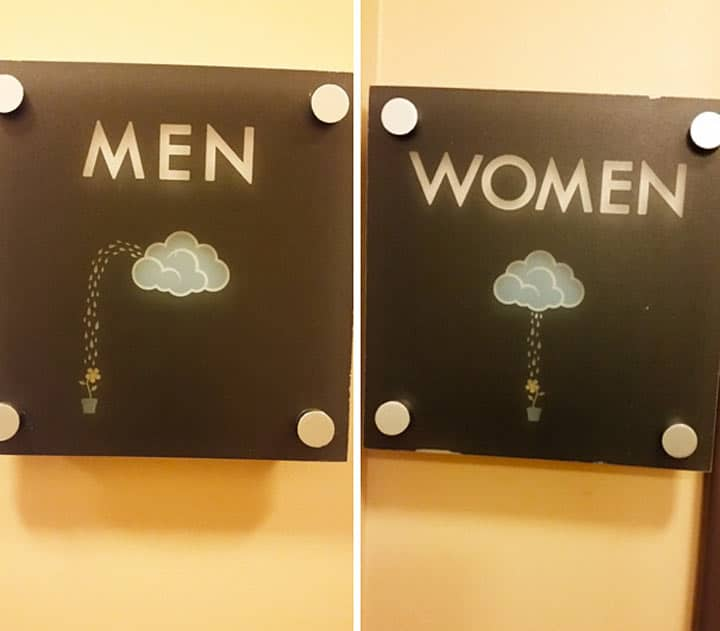 табличка в виде облаков