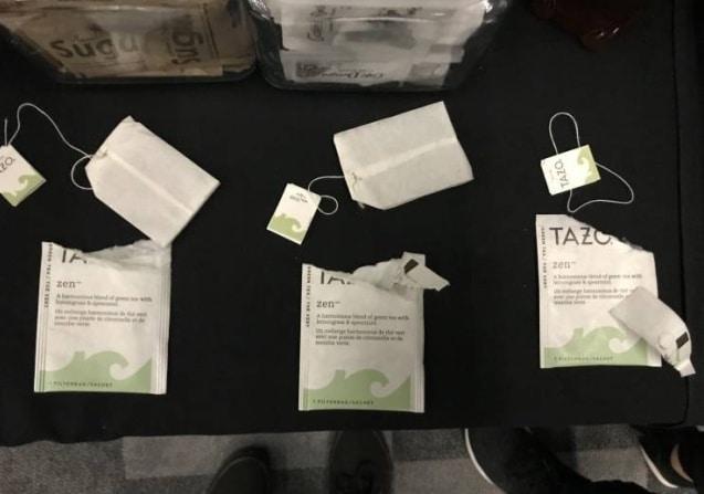 чайные пакетики без заварки