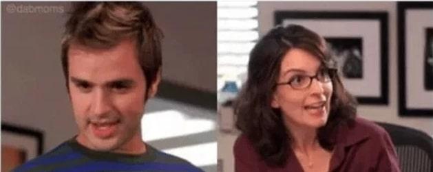 парень и девушка в очках