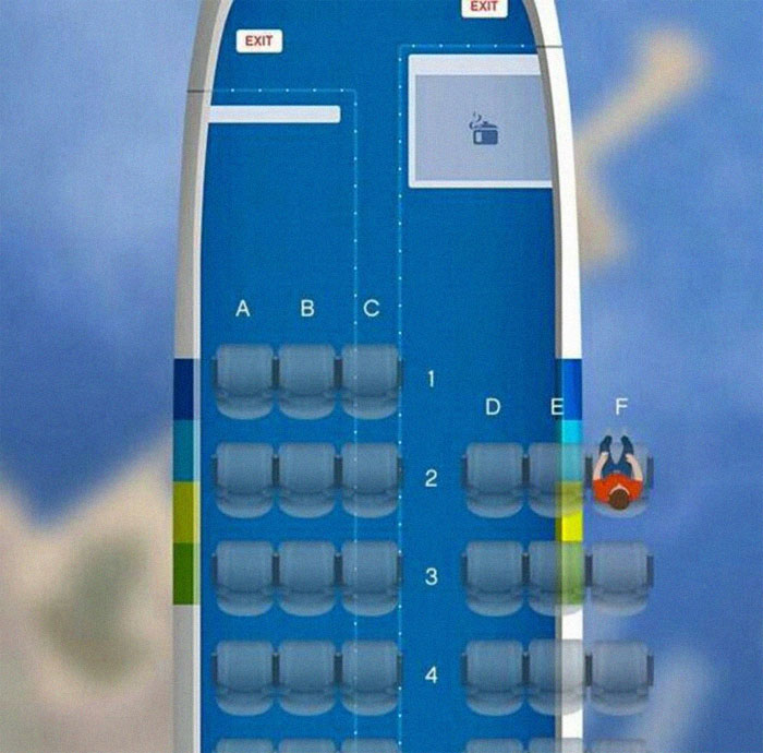 посадка в самолете