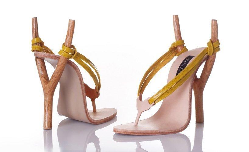туфли с рогаткой на пятке