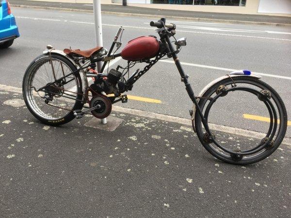 велосипед-мопед
