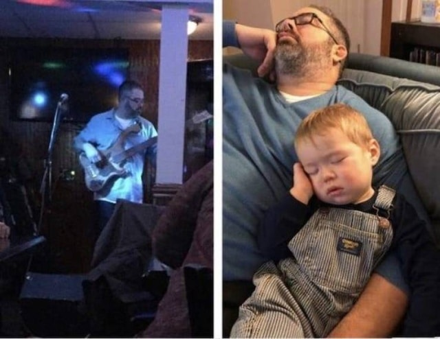 папа с сыном