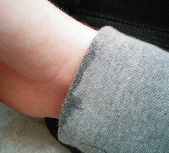 мокрый рукав