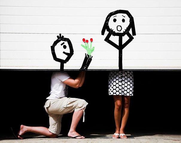 девушка и парень рис 2