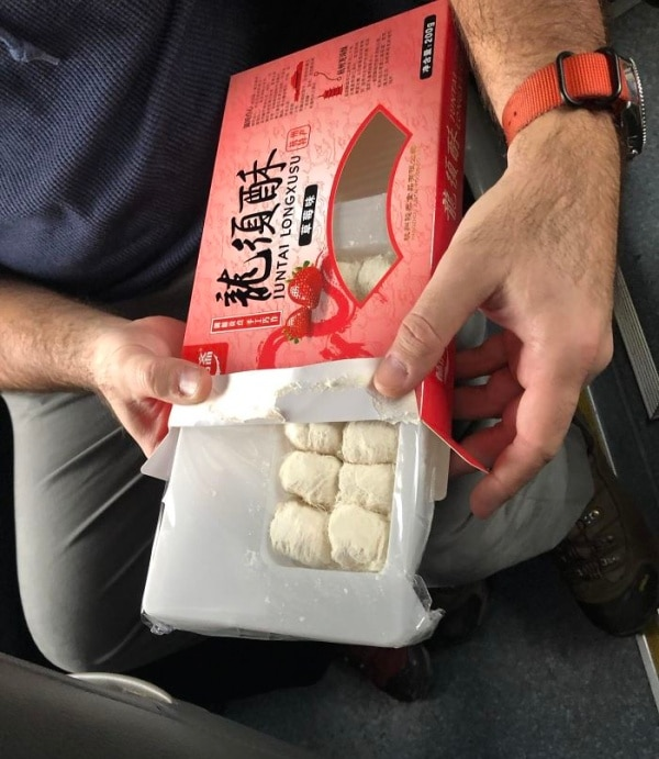 упаковка клубники