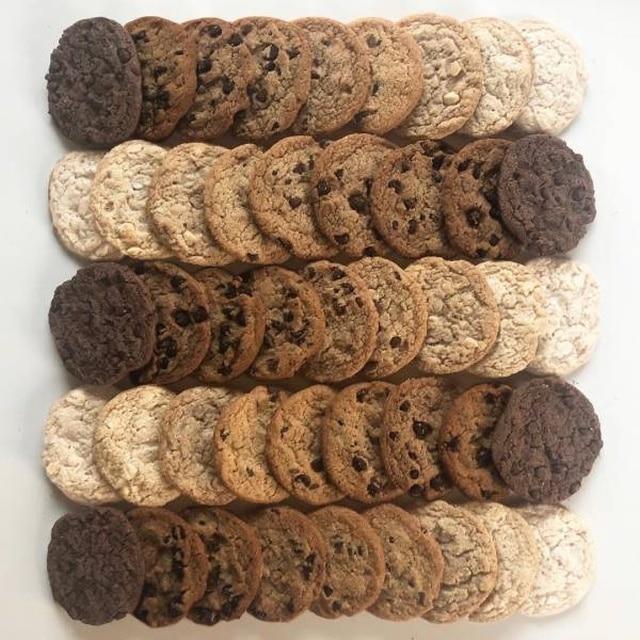 печенье разного цвета