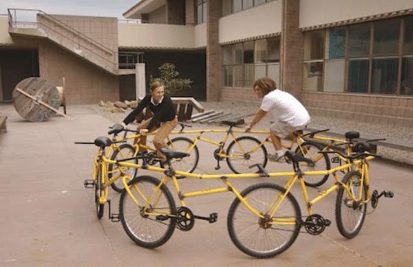 кольцо из велосипедов