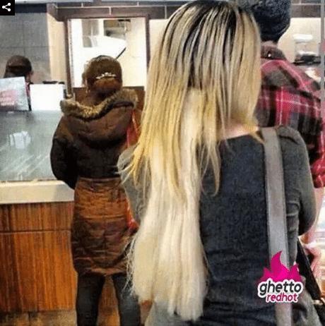 неудачные нарощенные волосы