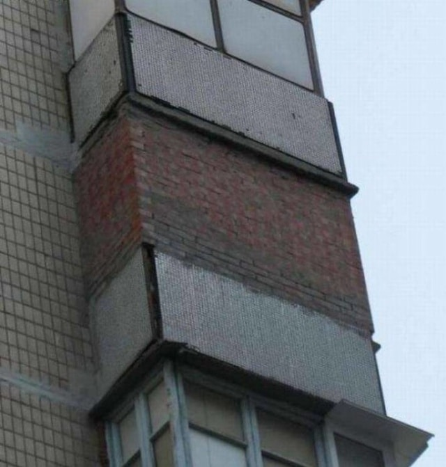 замурованный балкон