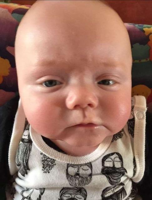 лицо малыша