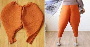 оранжевые шаровары