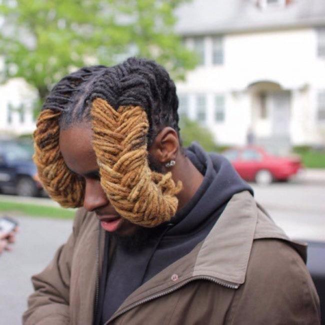 рога из волос