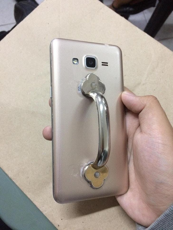 ручка на телефон