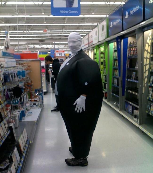 странный костюм