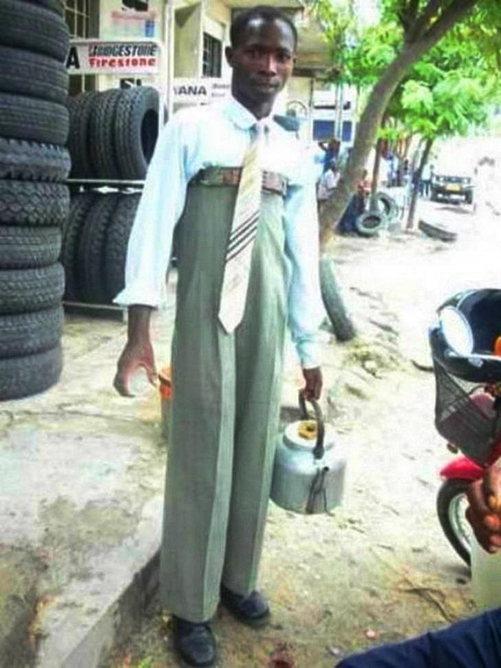 высокие штаны