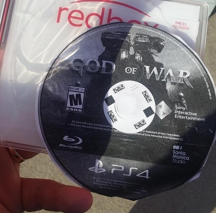 диск с игрой