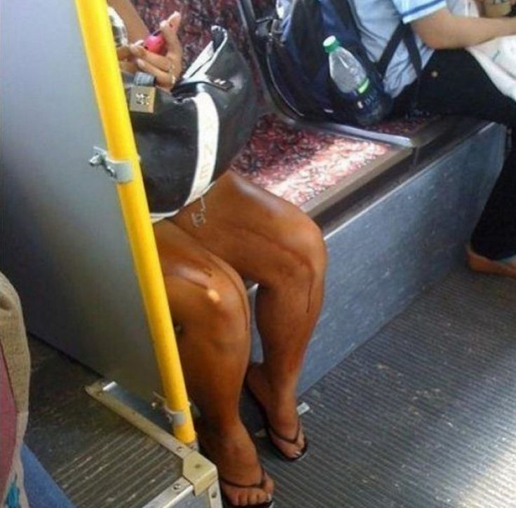 автозагар на ногах