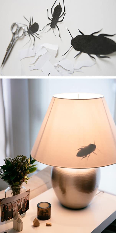 тараканы из бумаги