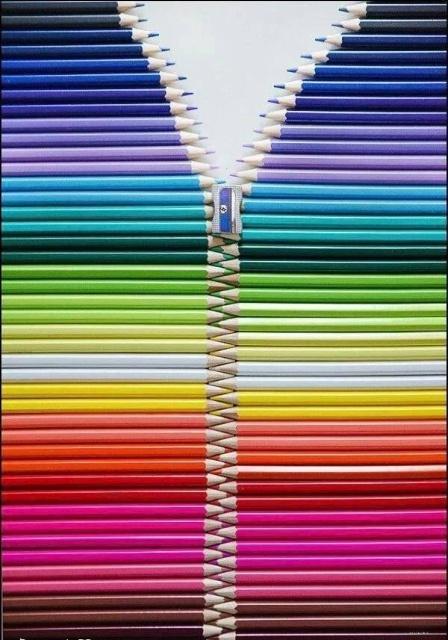 карандаши и точилка