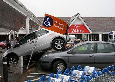 авария автомобилей