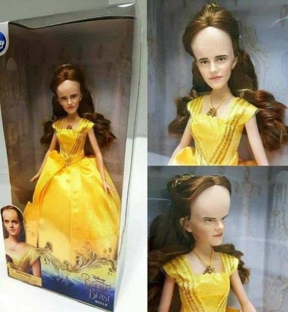 необычная детская кукла