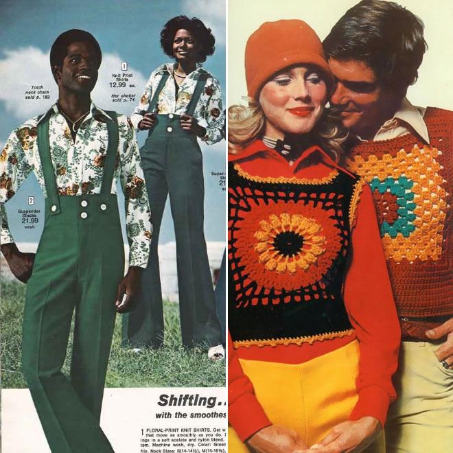 люди в яркой одежде
