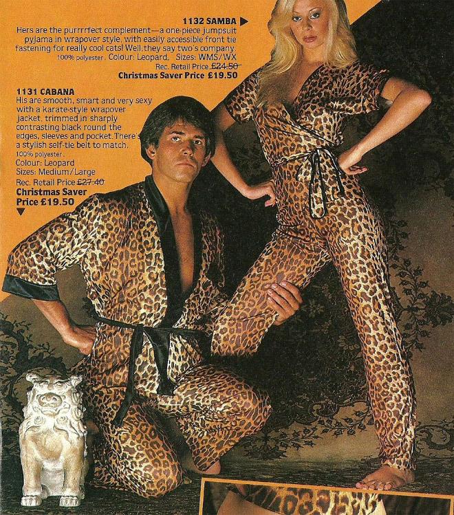 мужчина и женщина в леопардовой одежде