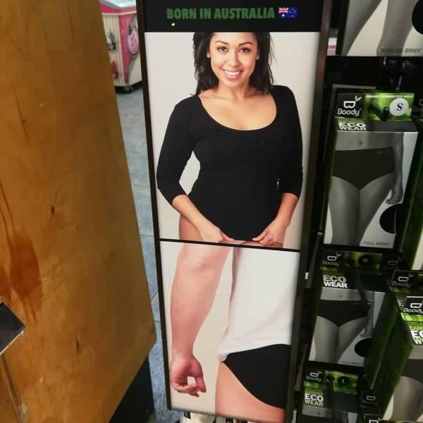 реклама в магазине