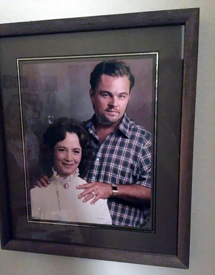 смешное семейное фото