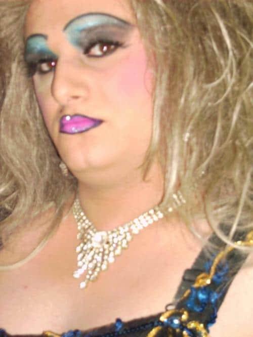 странный макияж у женщины