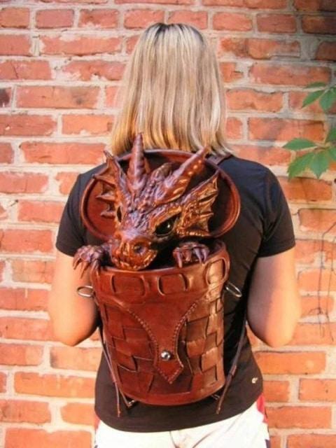 дизайнерский рюкзак