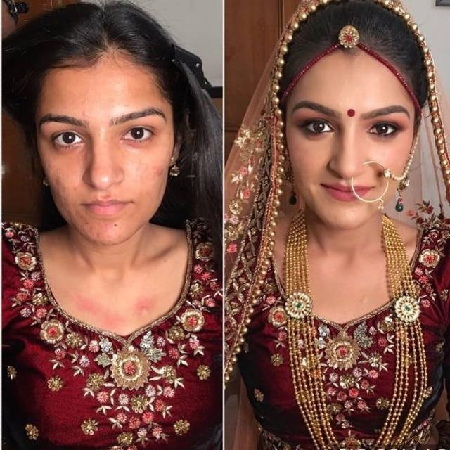 женщина в традиционном свадебном платье