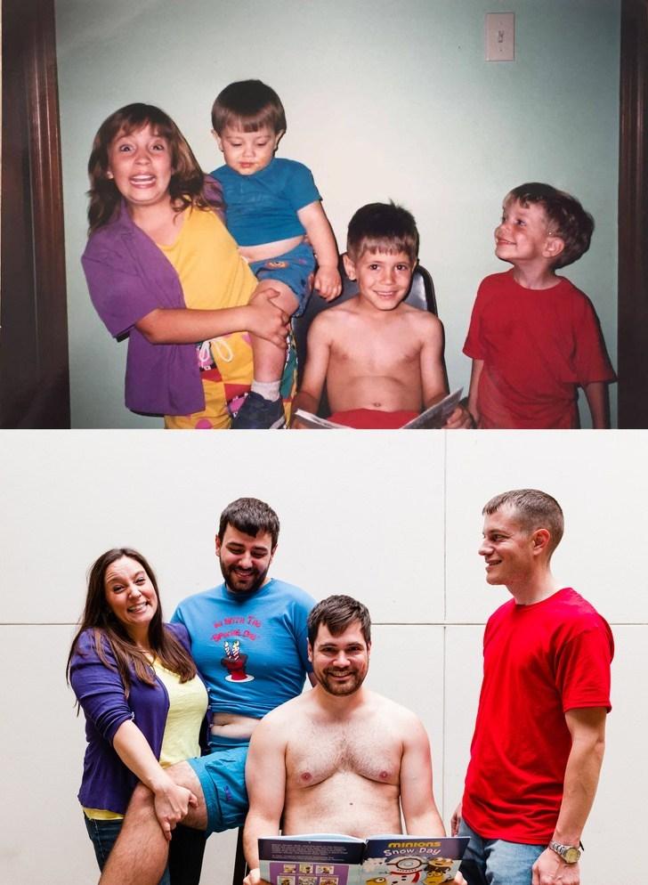 семья тогда и сейчас