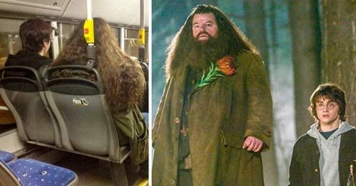 люди, похожие на героев фильма Гарри Поттер