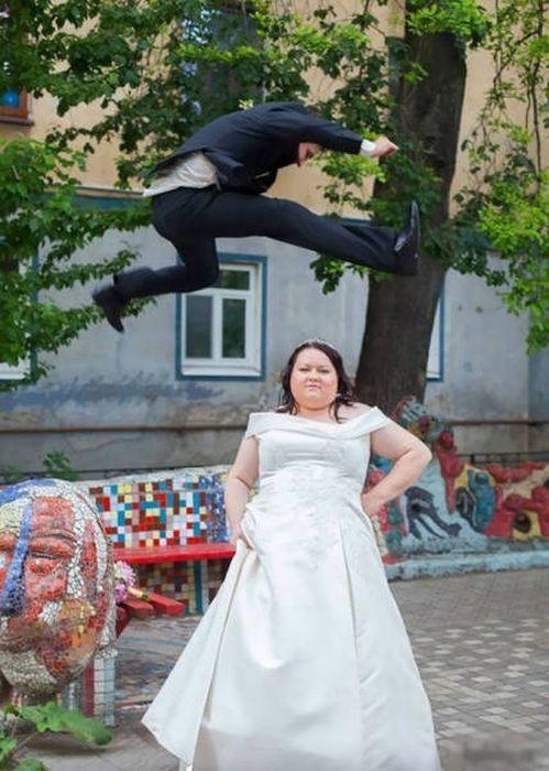 толстая невеста