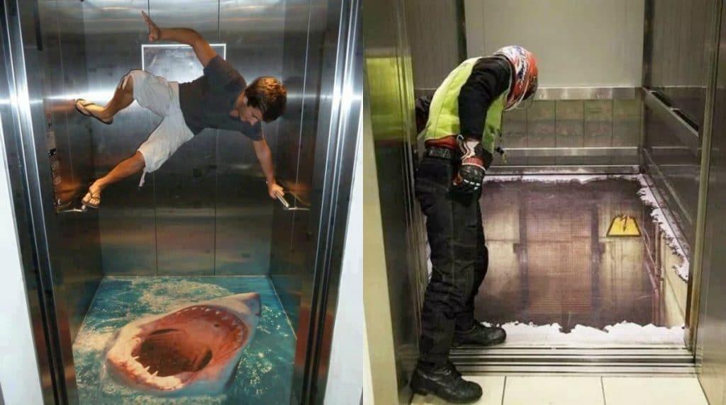 падуболистная нельзя пачкать лифт фото смешное всех