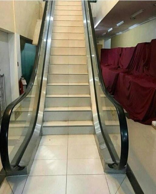 лестница и эскалатор