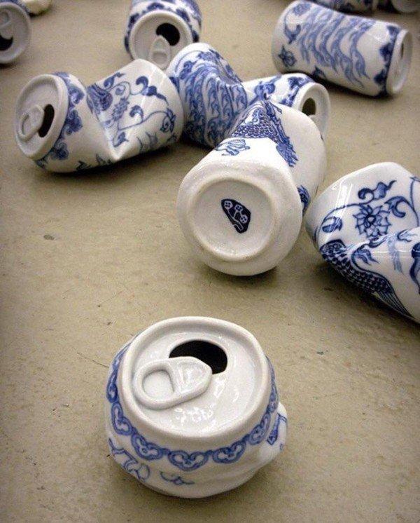 керамические пивные банки