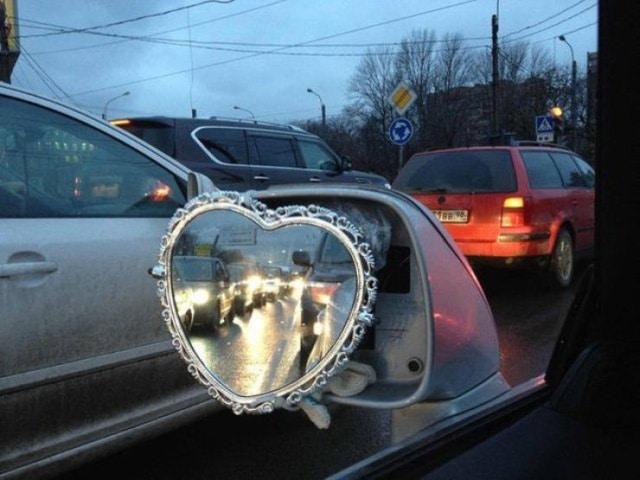 зеркало на авто