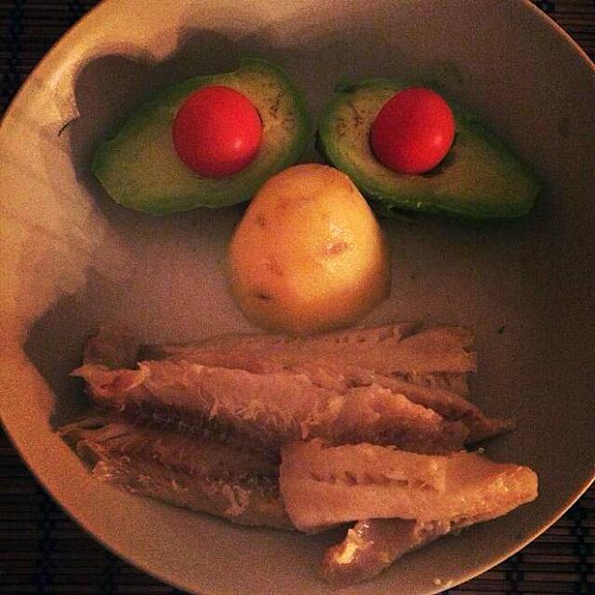 ужин на одного человека